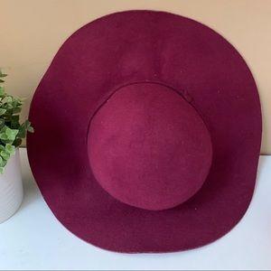 Aldo Burgundy structured wave hat